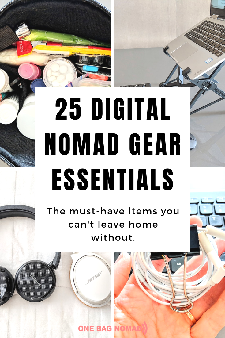 Photo of Digital Nomad Gear: 25 Absolute Must Have Items for Traveling Full Time