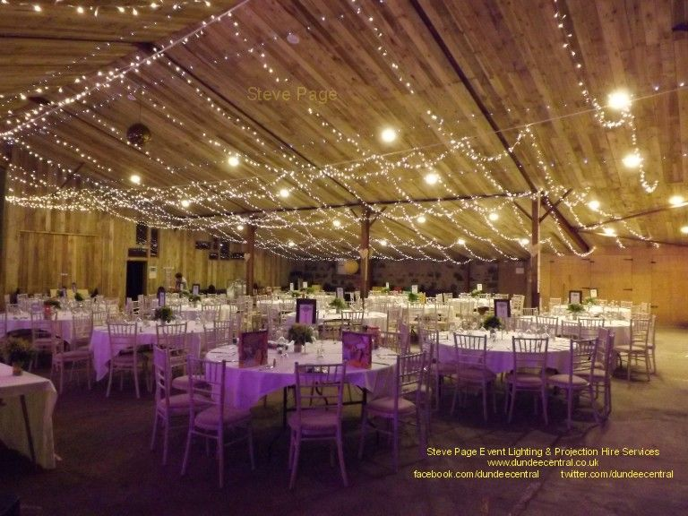 109 best wedding lighting hire images on pinterest outdoor events wedding lighting fairy light canopy installed at the comrie croft barn in perthshire junglespirit Choice Image