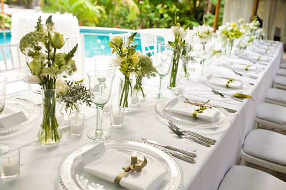 wedding table settings simple - Google Search & wedding table settings simple - Google Search   Wedding ideas ...