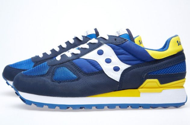 sports shoes 4974c b2a99 White Mountaineering x Saucony Shadow Original – Navy / Blue ...