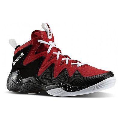 Reebok kamikaze iv basketball shoes - red / #black / #white - #brand new,  View more on the LINK: http://www.zeppy.io/product/gb/2/152066674394/