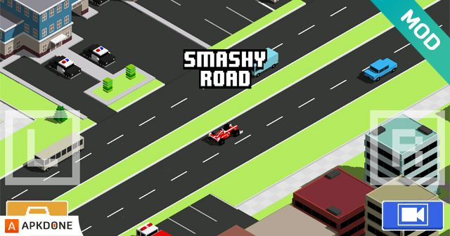 Smashy Road Wanted MOD APK 1.4.0 (Unlimited Money) for