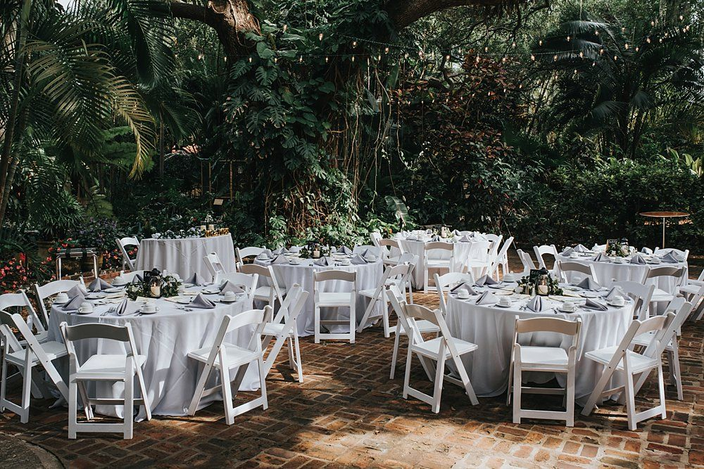 Elegant And Romantic Sunken Gardens Wedding St Pete Wedding