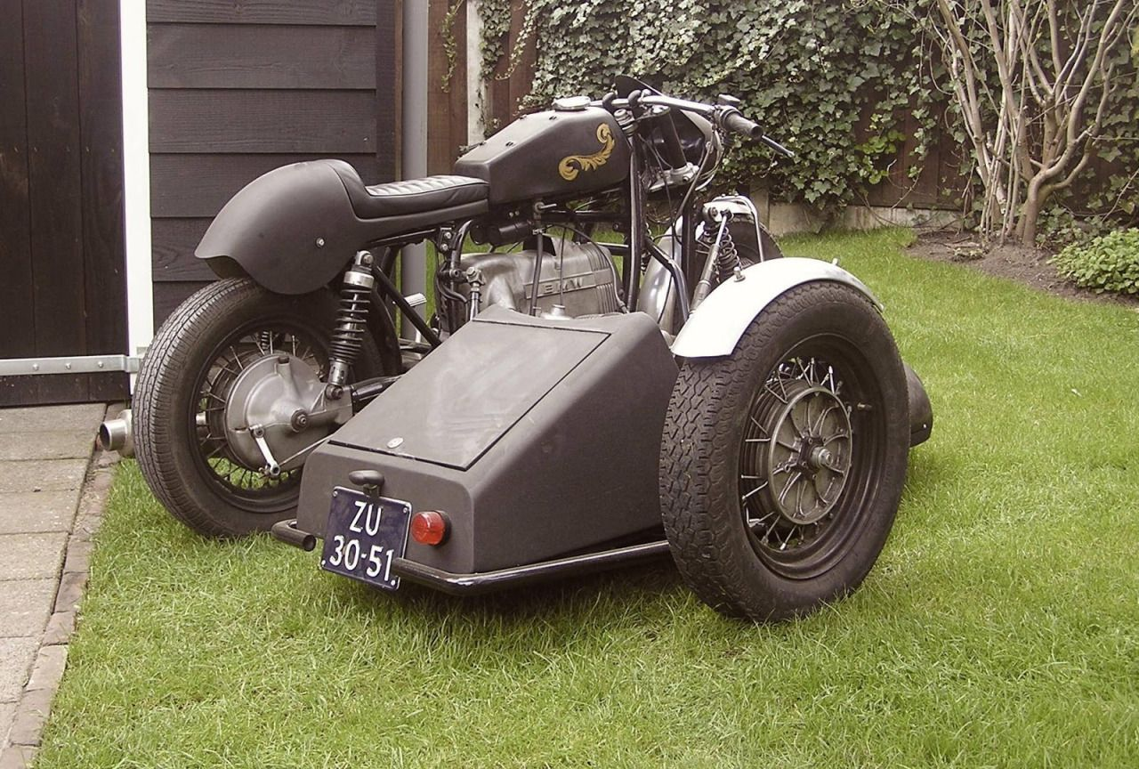 BMW Cafe Racer - Sidecar - Frank Bouwmeester | www.caferacerpasion
