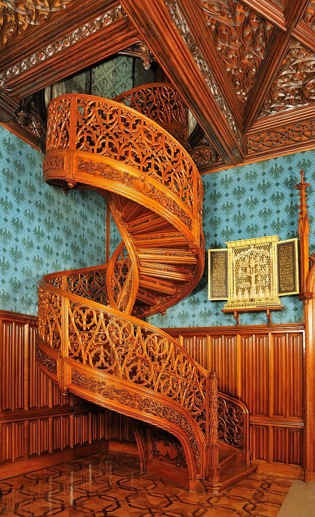 Best The Amazing Spiral Staircase In Lednice Castle Czech 640 x 480