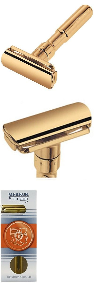 Mens Razors Merkur Futur Double Edge Adjustable Safety Razor Polished Gold Plated 90702003 Buy It Now Only 83 67 With Images Mens Razors
