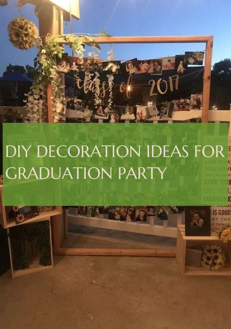 diy decoration ideas for graduation party