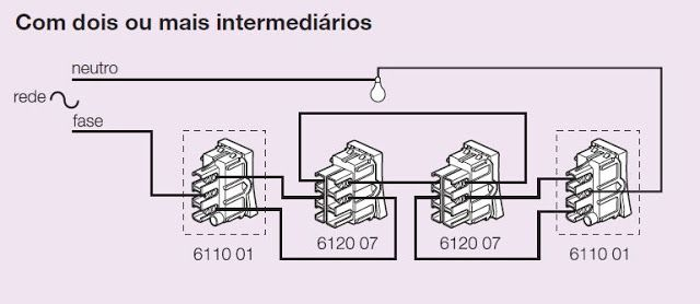 central el u00c9trica  esquema de liga u00c7 u00c3o interruptor paralelo