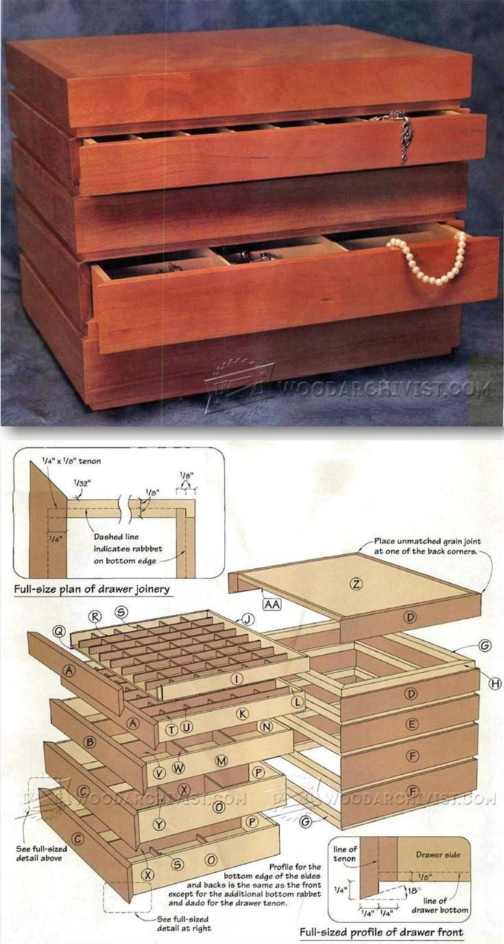Bauhaus Jewelry Box Plans Woodworking Plans And Projects