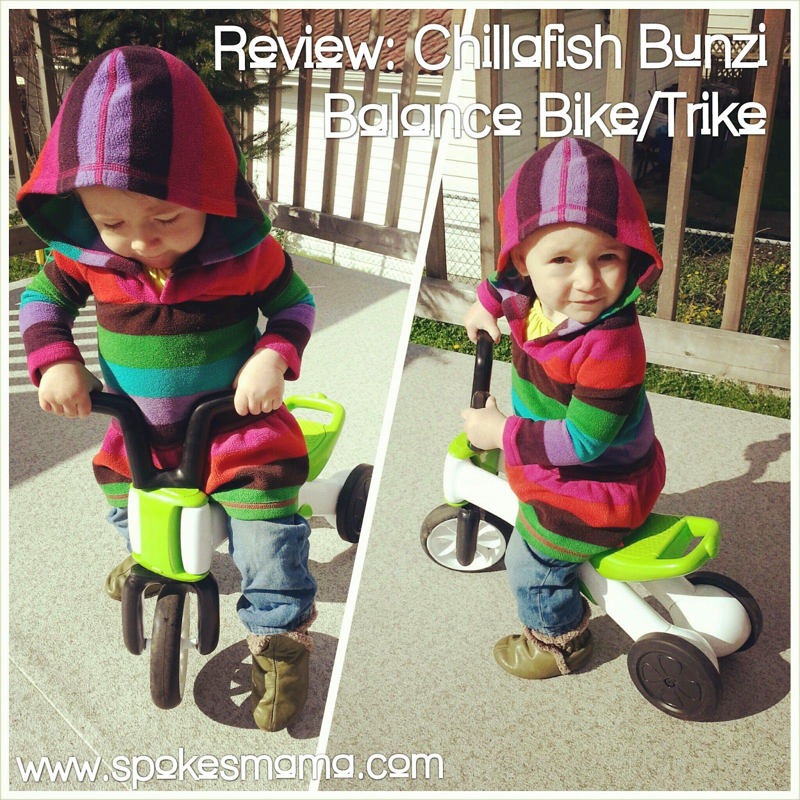 Spokesmama Review Chillafish Bunzi Balance Bike Trike Balance
