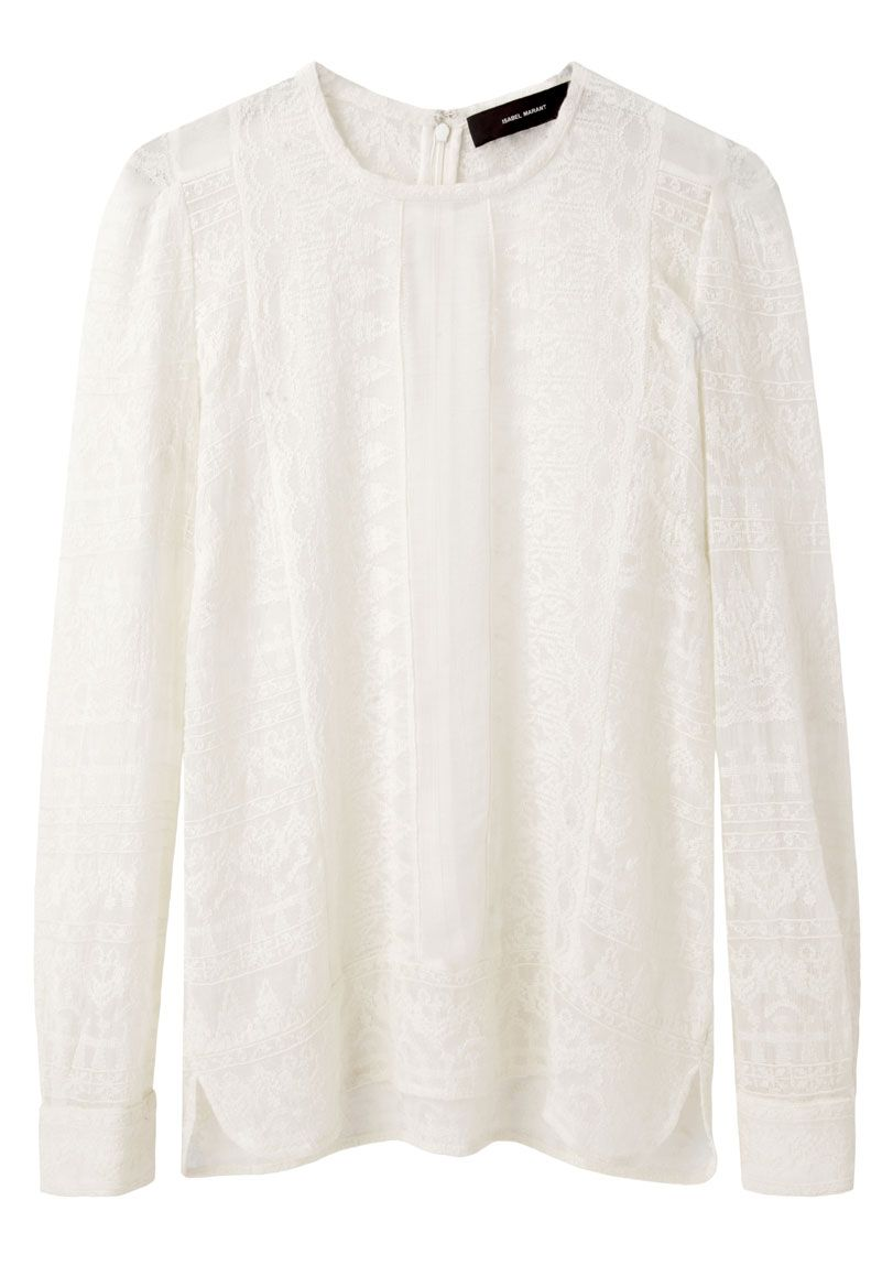 66f67ed625 Isabel Marant Tess Embroidered Top | La Garçonne | Isabel marant ...