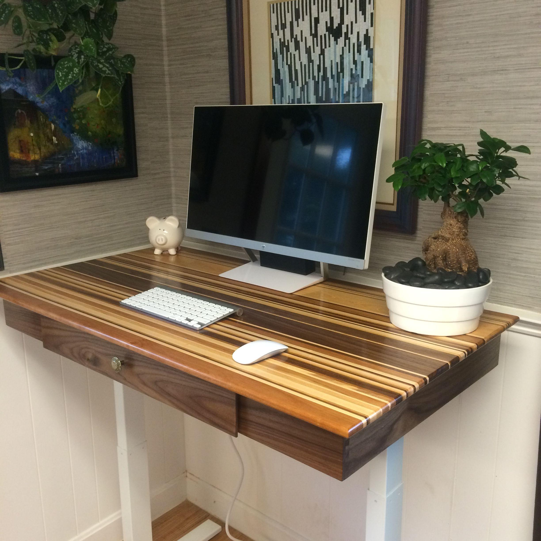 Diy standing desk adjustable with smartdesk kit frame