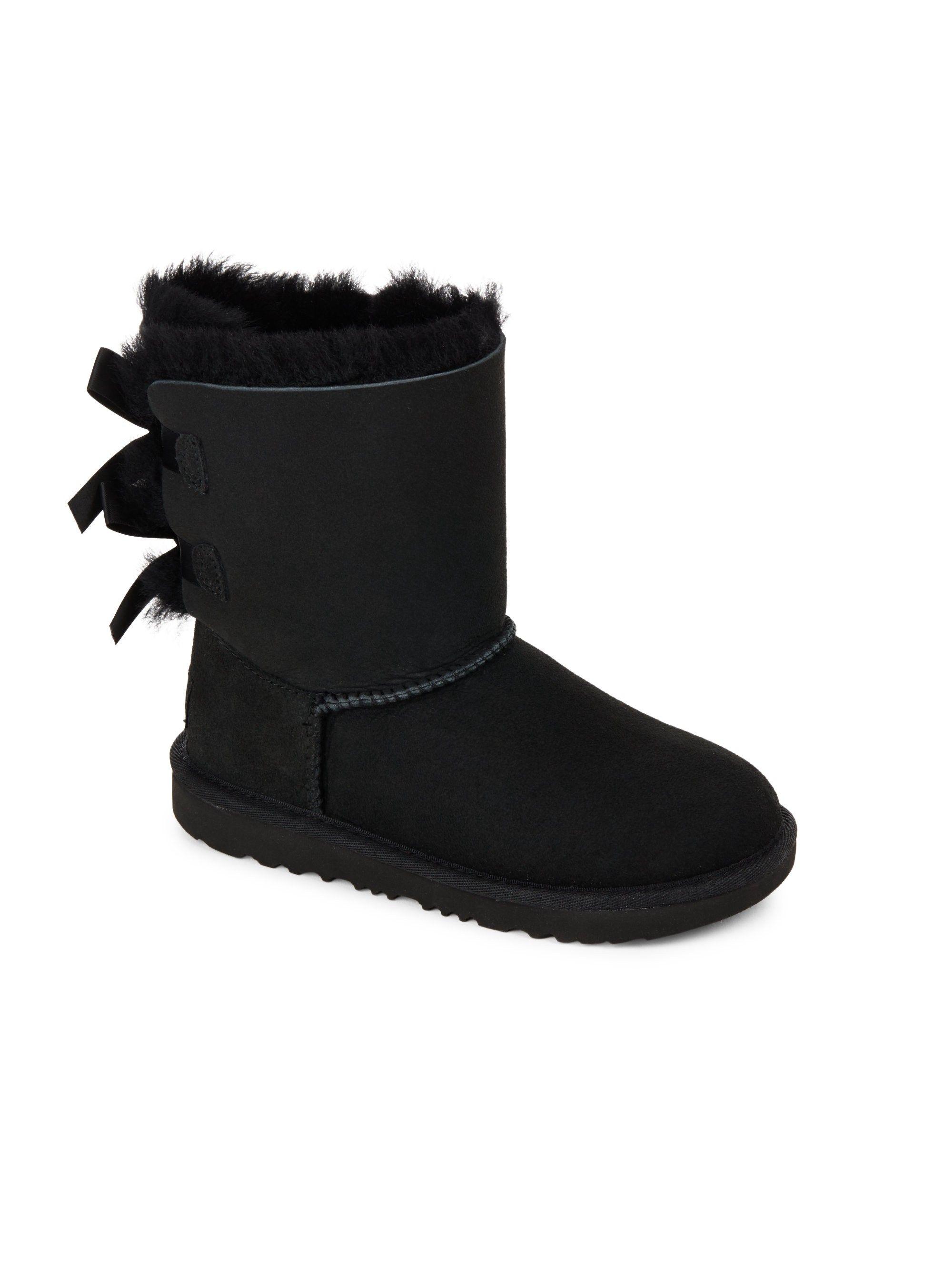2ab1a2e7ad2 Ugg Australia Kids' Bailey Bow II Boots - Chestnut 13 (Child ...