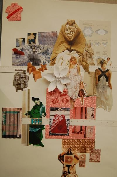 Hnd Textiles And Fashion Week 23 Fashion Design Portfolio Fashion Collage Fashion Design Inspiration Board