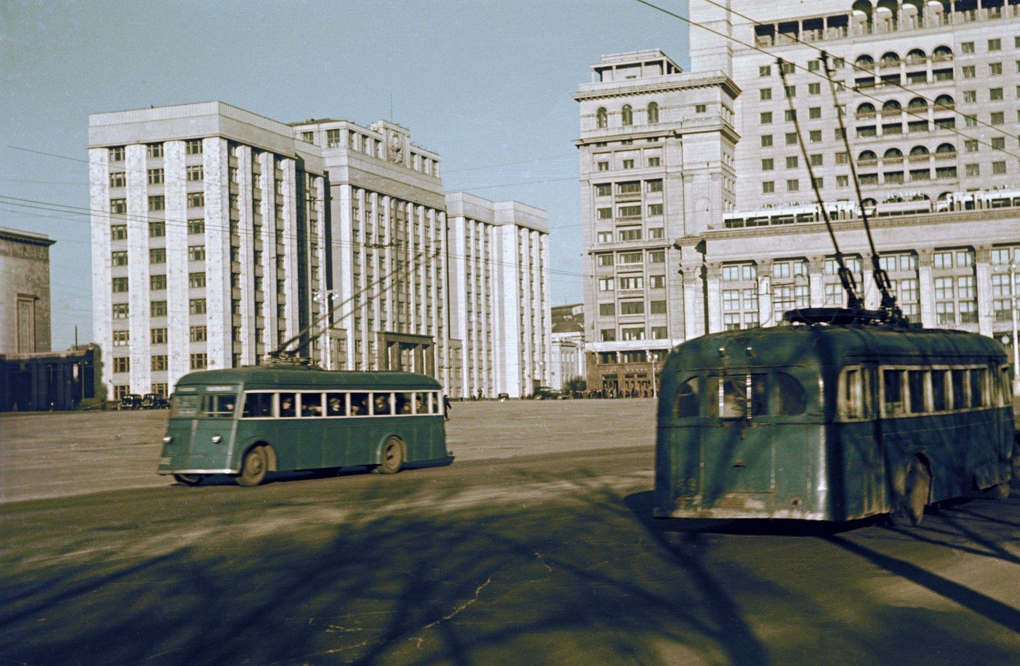 Переправа через Кубань в пробеге госиспытаний автомобилей ...