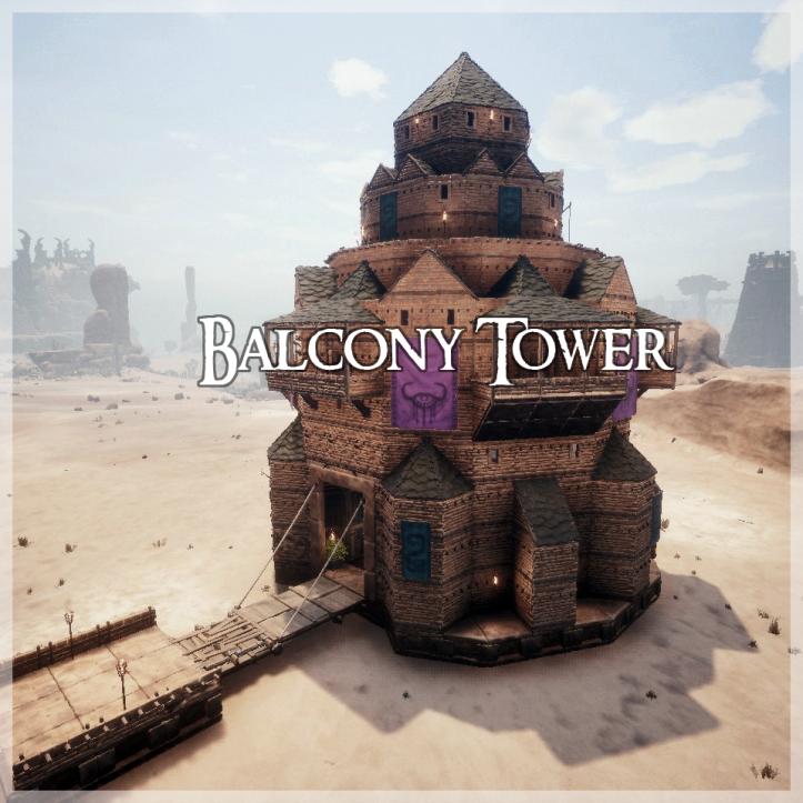 Tutorial Conan Balcony Tower Conan Conan Exiles Conan The Barbarian