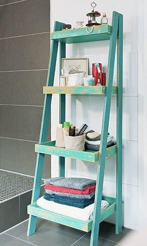 DIY-Anleitung Badregal bauen via DaWanda Tips für zuhause