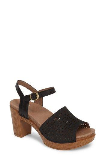 Dansko Women's Denita Block Heel Sandal