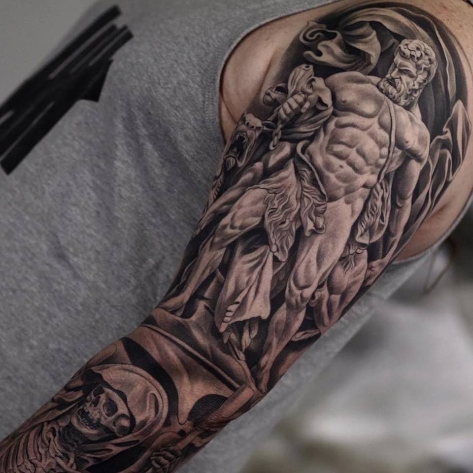 30 Best Tattoos Ever!! Hercules tattoo, Best sleeve