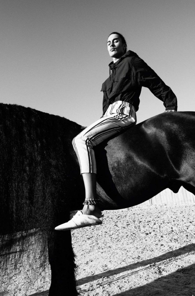 [Fashion Editorial] Le frison de Vogue Hommes