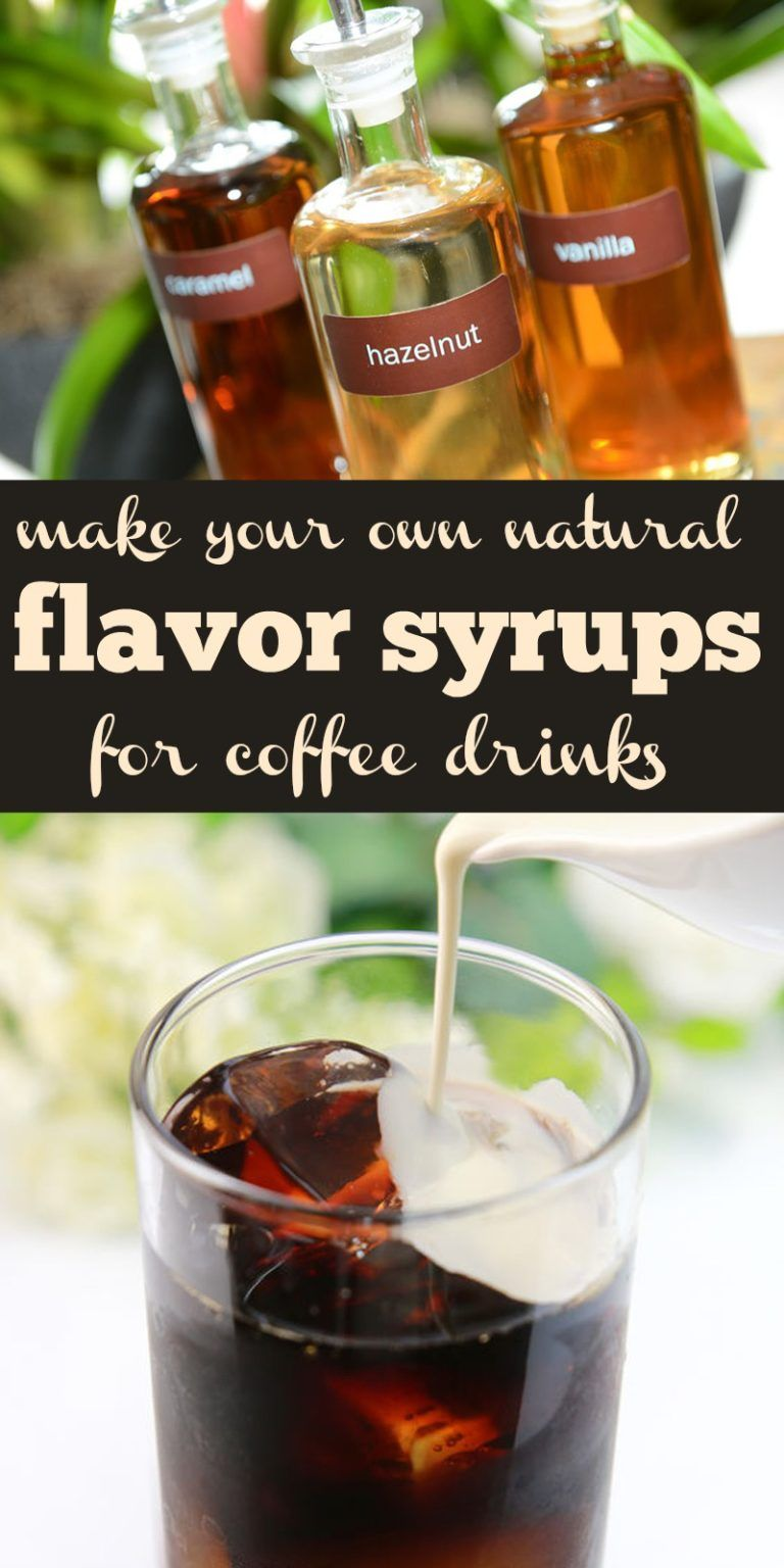 how to make sugar-free vanilla syrup for coffee