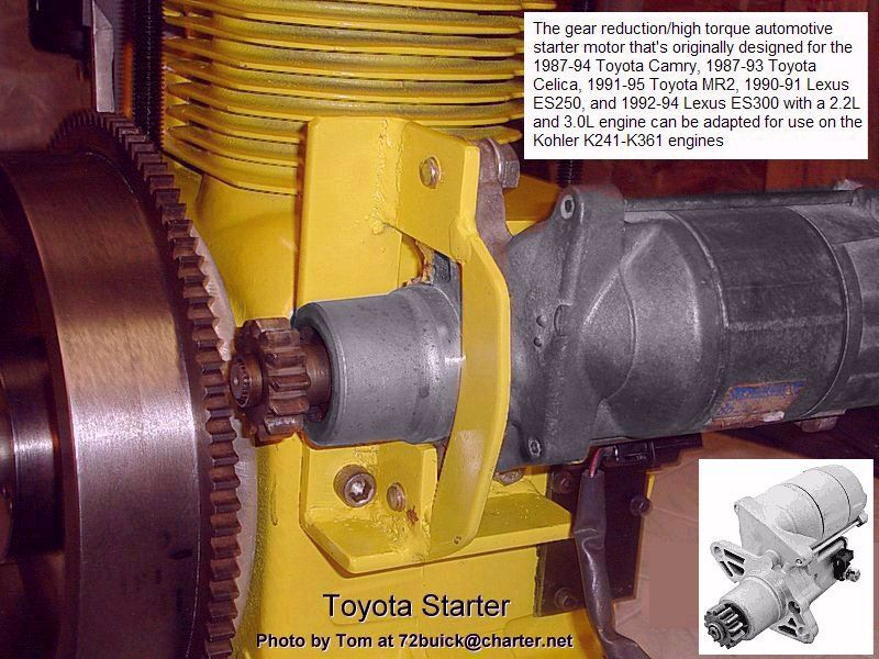 Electrical Solutions For Small Engines And Garden Pulling Tractorsusing A Remote Starter Cart Starting System Small Engine Electricity Engineering