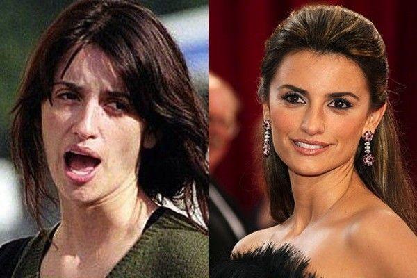 20 fotos de famosos sem maquiagem que vão deixar você de boca aberta | Fotos de maquiagem, Celebridades bonitas