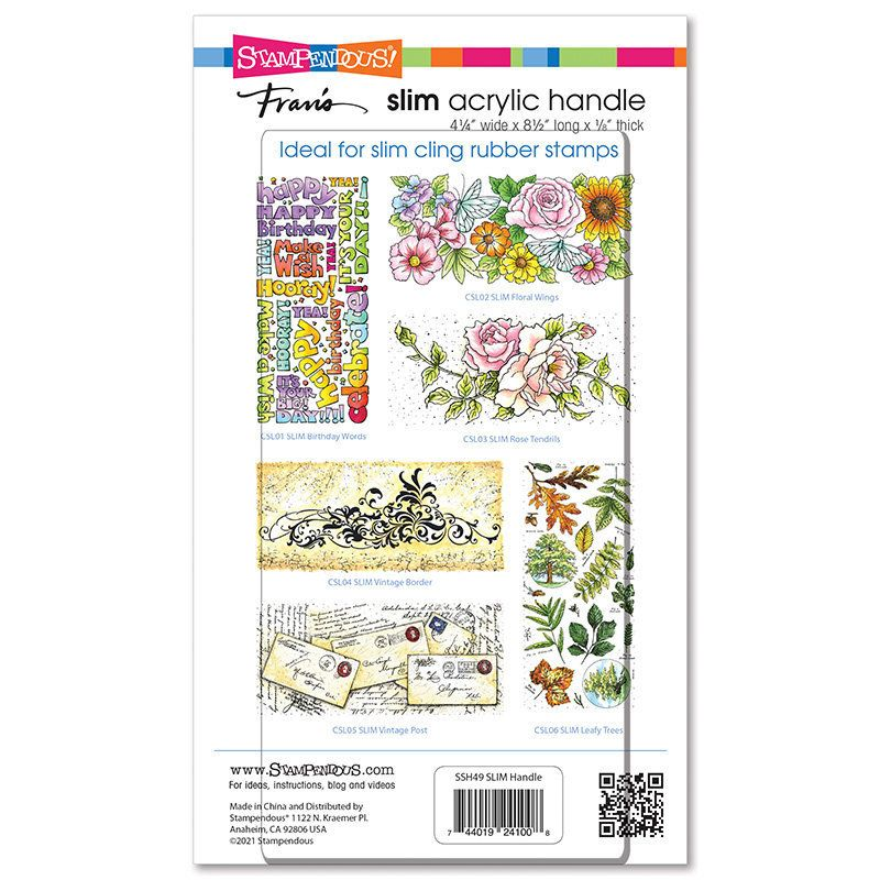 Stampendous Regular Clear Rubber Stamp Handle