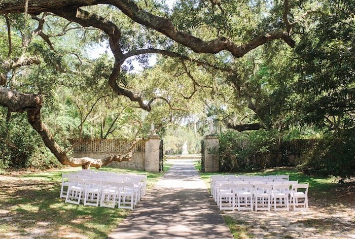 Gorgeous Outdoor Wedding Venue In South Carolina At Brookgreen Gardens
