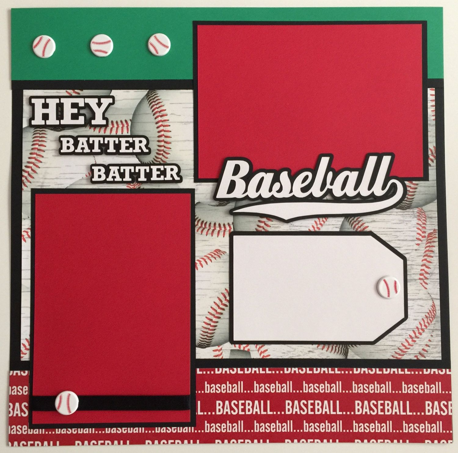 """PAPER HOUSE BASKETBALL SPORTS 12/""""X12 CARDSTOCK SCRAPBOOK STICKERS"""