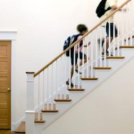 Best How To Fix Loose Staircase Railings With Images Wood 640 x 480