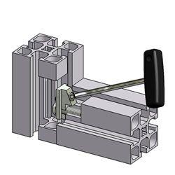 MiniTec TSlotted Aluminum Extrusions. Modular Aluminum