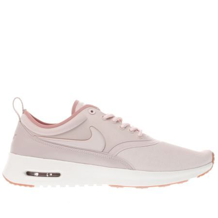 Nike Air Max Formateurs Violet Et Rose Thea Bord