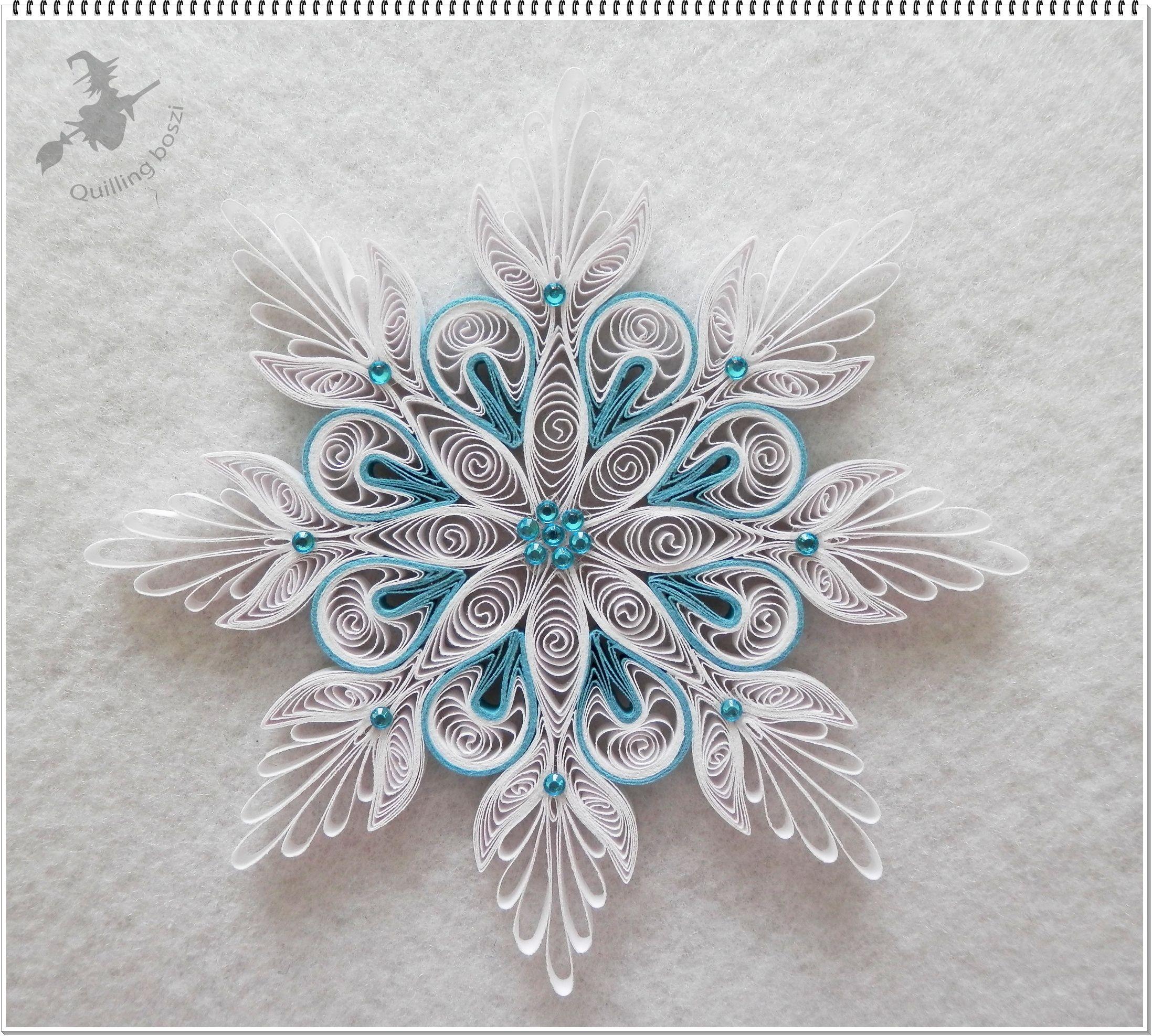 Kar csonyfa d sz quilling christmas pinterest for Quilling patterns