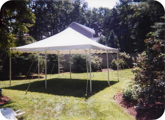20 X 20 White Canopy White Canopy Patio Umbrella Small Tent