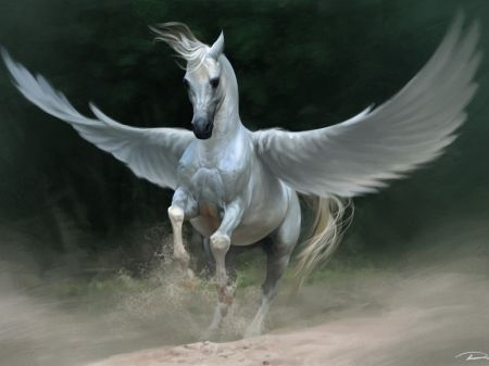 White Unicorn With Wings | www.pixshark.com - Images ...