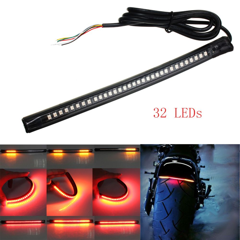 Universal flexible led motorcycle brake lights turn signal light cheap light monkey lights buy quality light up lighting directly from china light header suppliers universal flexible led motorcycle brake lights turn aloadofball Image collections