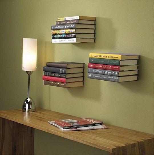 Homemade Bookshelf Ideas cool ideas diy floating bookshelves ~ http://lanewstalk