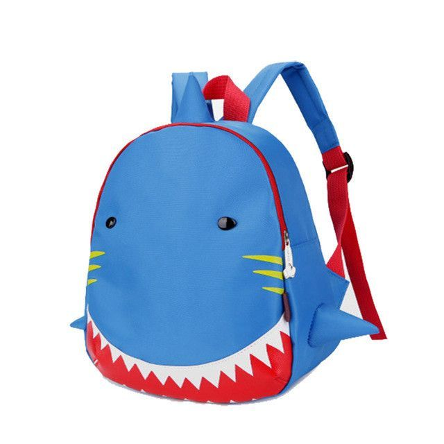 e6939ae6901d Kids Backpack Animal Bag for 1-3 Years Boys and Girls Toddler Shark Bag  Kindergarten Children Cartoon School Bag