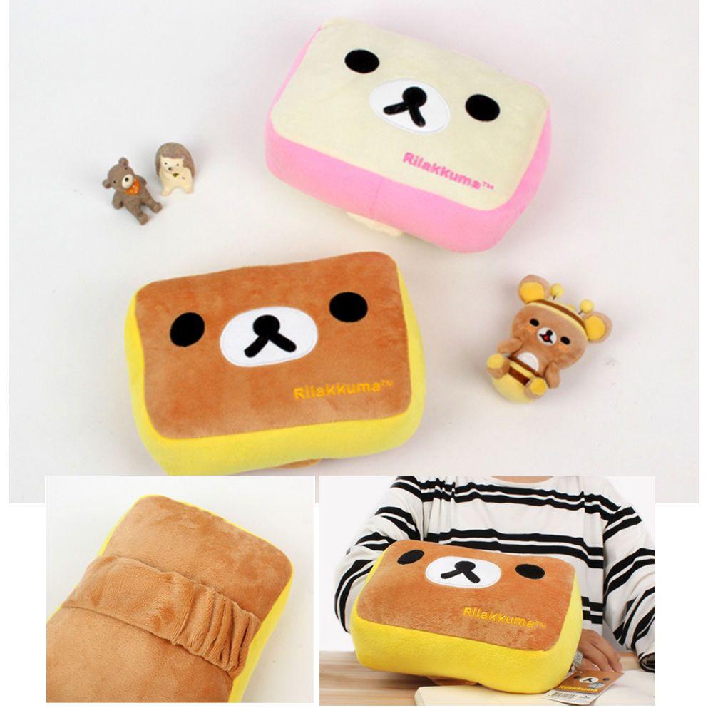 Details About Rilakkuma Arm Pillow Cute Cushion Portable Travel