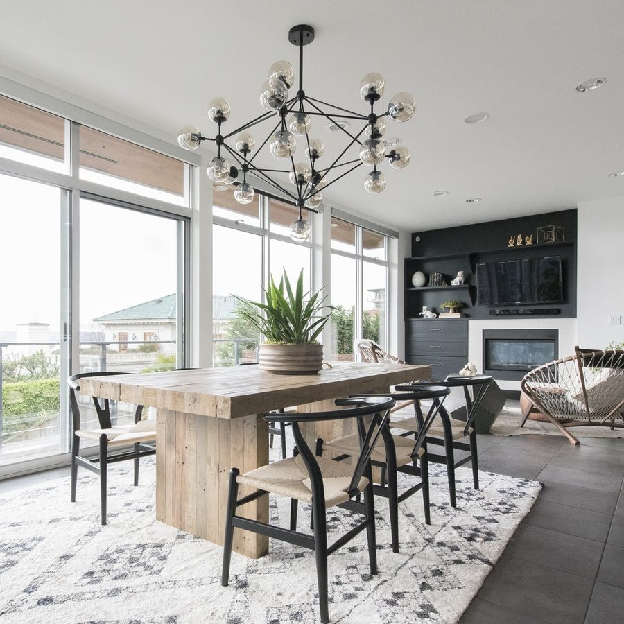 Dramatic Dining Room Design: Make A Dramatic Statement In Your Dining Room With A