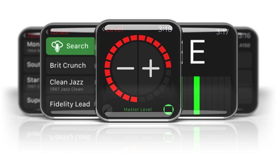 Line 6 AMPLIFi Overview Apple watch apps, Ipad