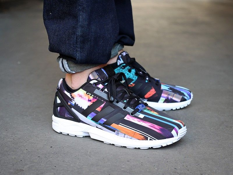 Startseite Gt Adidas Zx Flux Photo Print Cityscape Torsion Multi Mul