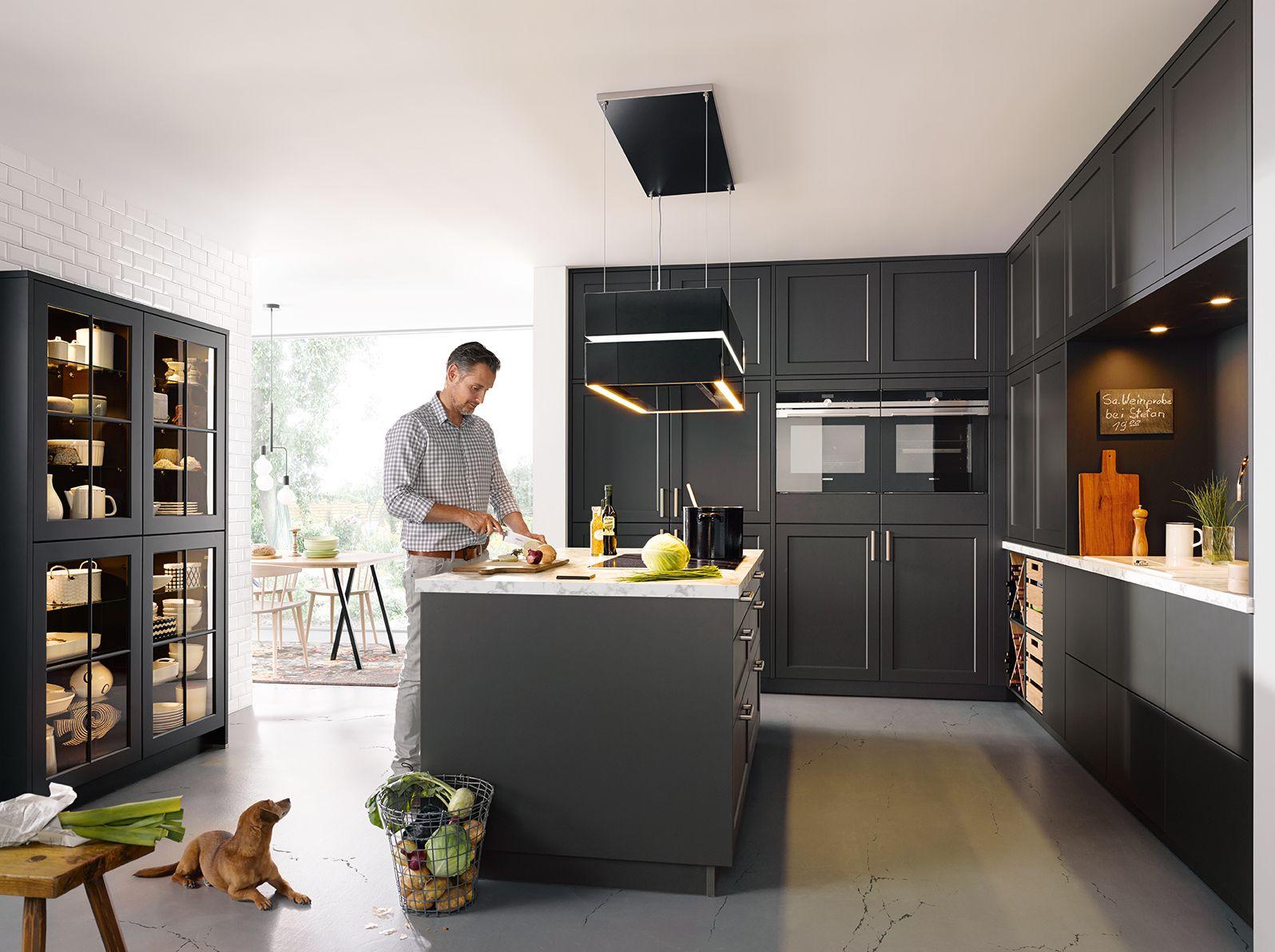 Grey Shaker Kitchen Ideas Schuller German Kitchens Vienna Germankitchens Kitchendesign Schulle Grey Shaker Kitchen Kitchens And Bedrooms Shaker Kitchen