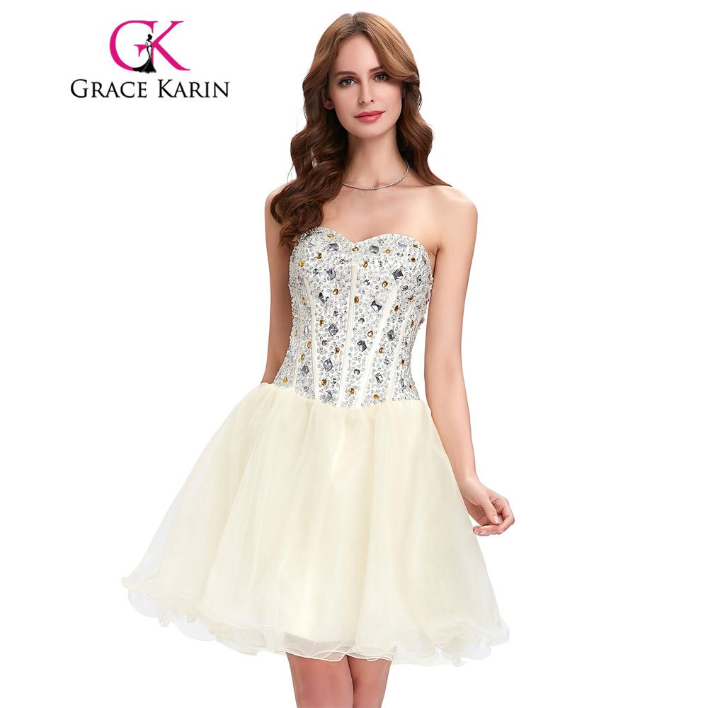 Click to buy ucuc grace karin short prom dresses cocktail luxury
