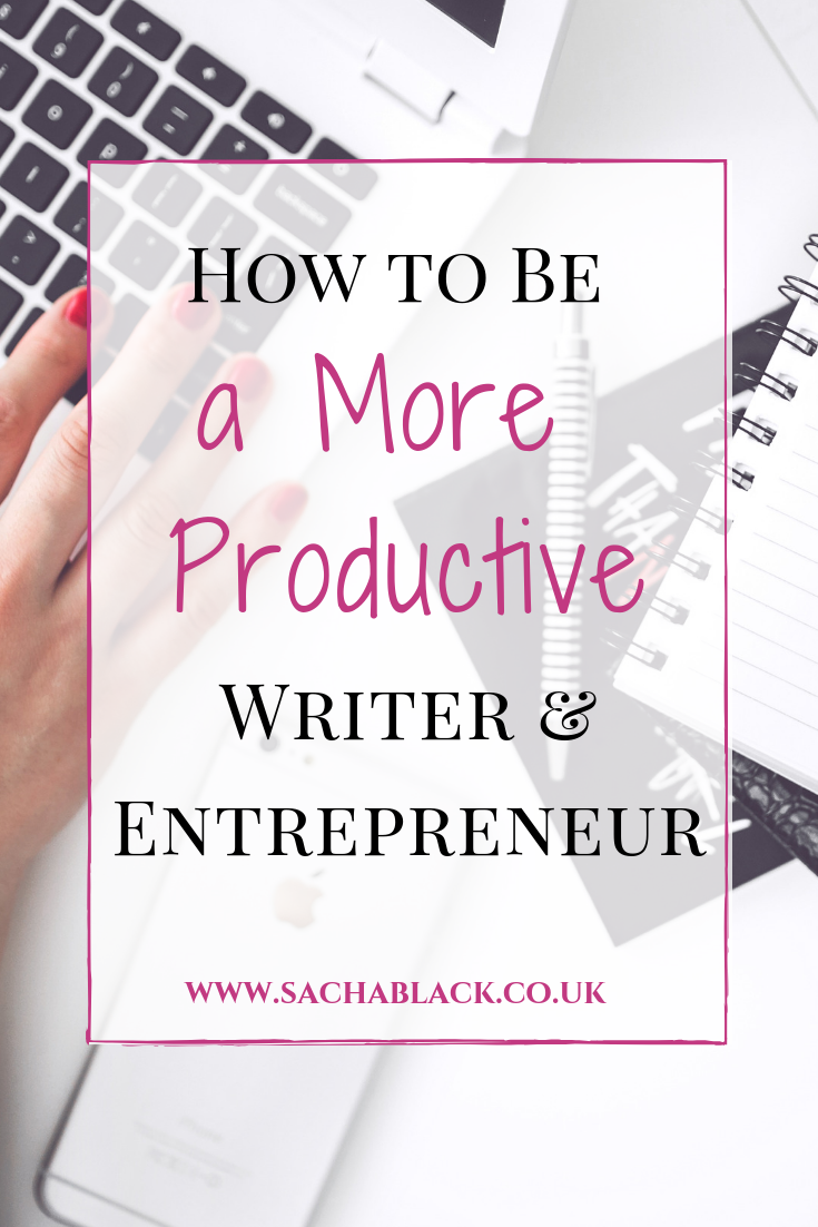 This Quick Trick Will Help You Be More Productive As A Writer And Business Person How To Be A More Product Business Entrepreneur Writer Freelance Writing Jobs
