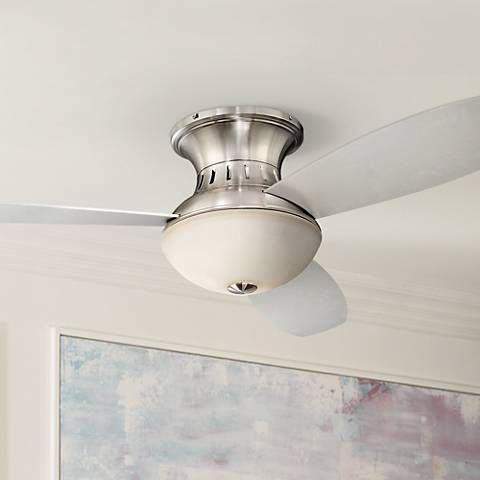 Possini Euro Design 44 Encore Silver Hugger Fan Ceiling Fans