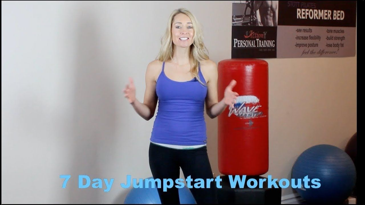 7 Day Jumpstart Workout Youtube Danette May Fitness Inspiration Workout