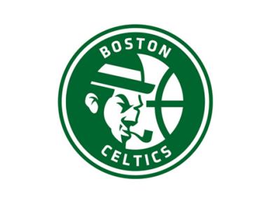 Your Favorite Nba Logos Redesigned Web Design Ledger Nba Logo Logo Redesign Logo Basketball