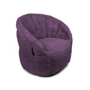 Purple Bean Bag Style Chair